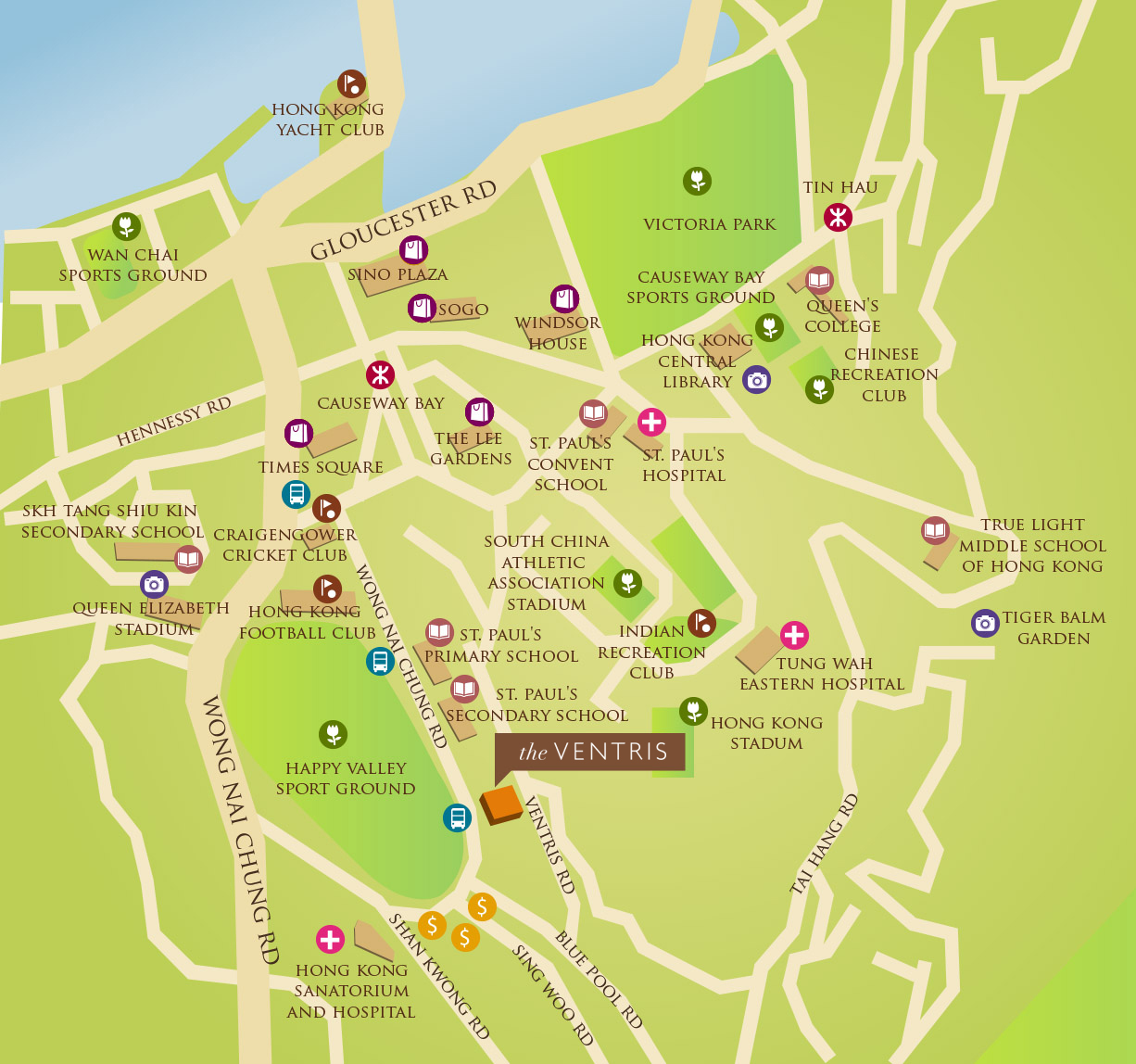 The Ventris – Apartments for Lease in Happy Valley on google map singapore, google map china, google map kowloon tong, google map br, google map kowloon hong kong, google map ne, google map taiwan,